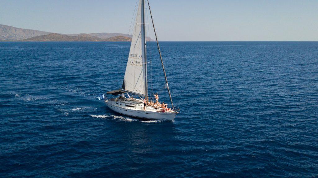 sailing in Crete